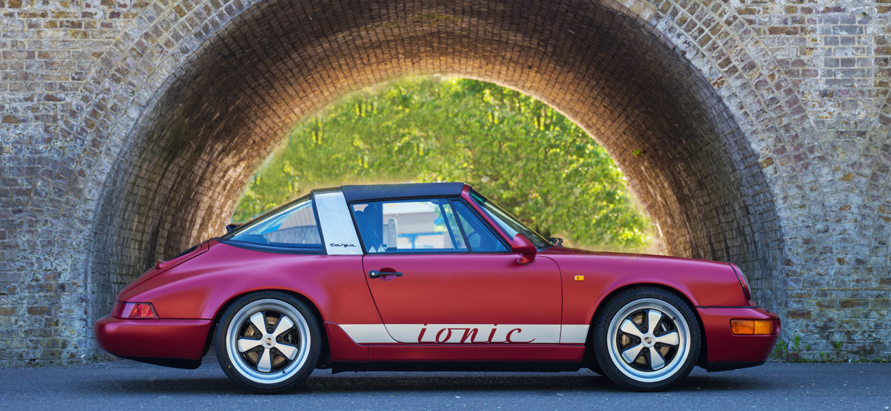 Electric Porsche 911 Targa by ionic cars