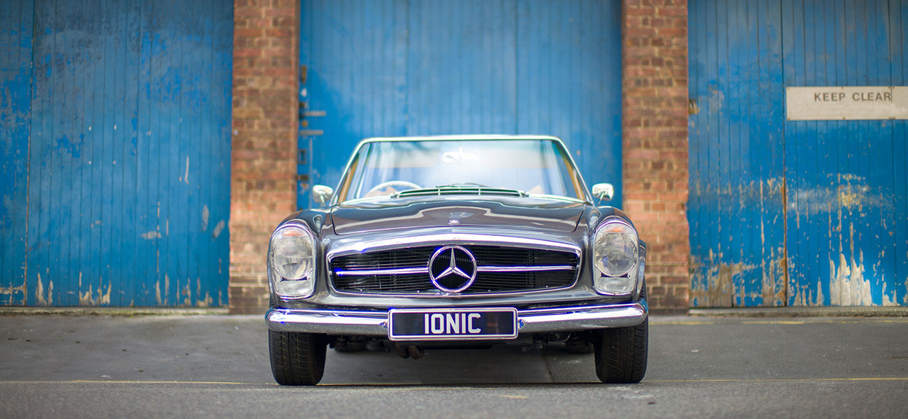 Ionic Mercedes Pagoda Front