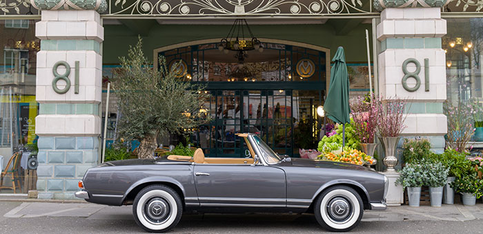Mercedes Pagoda Specification