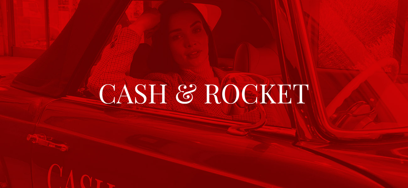 Ionic - Cash and Rocket event