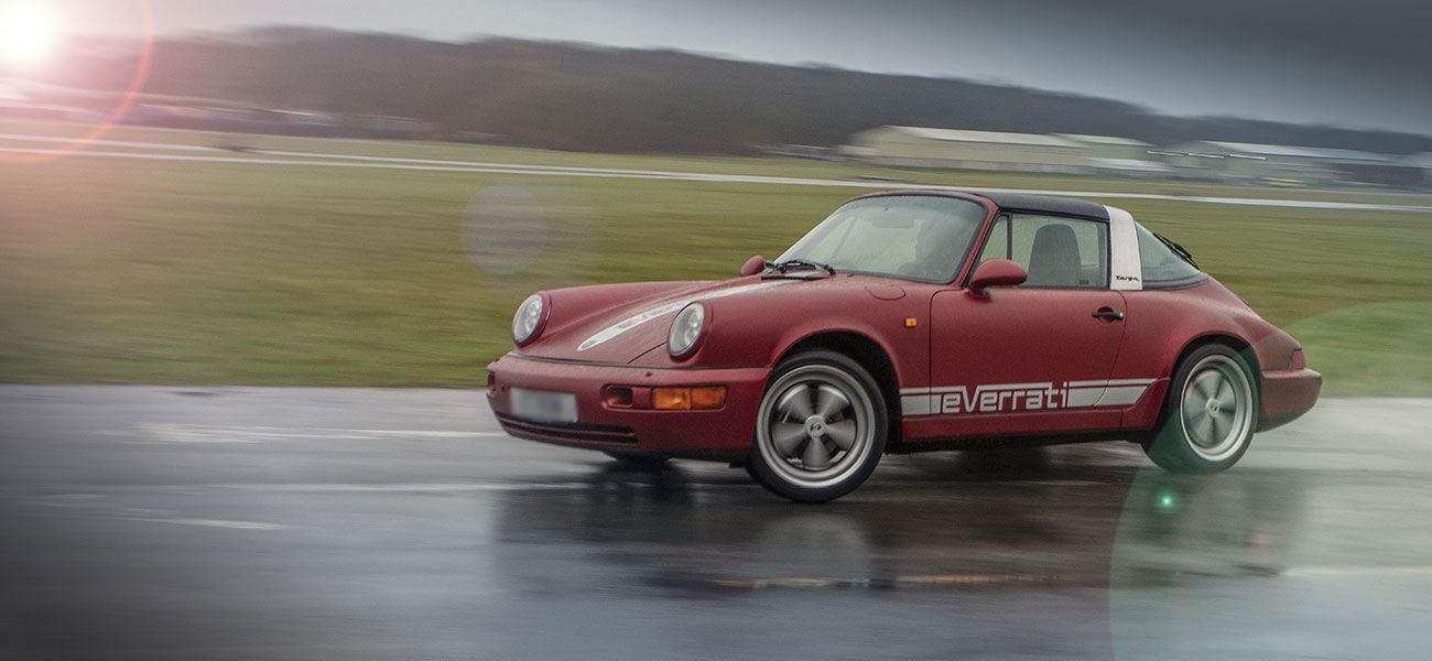 Electric Porsche 911 Targa Everrati