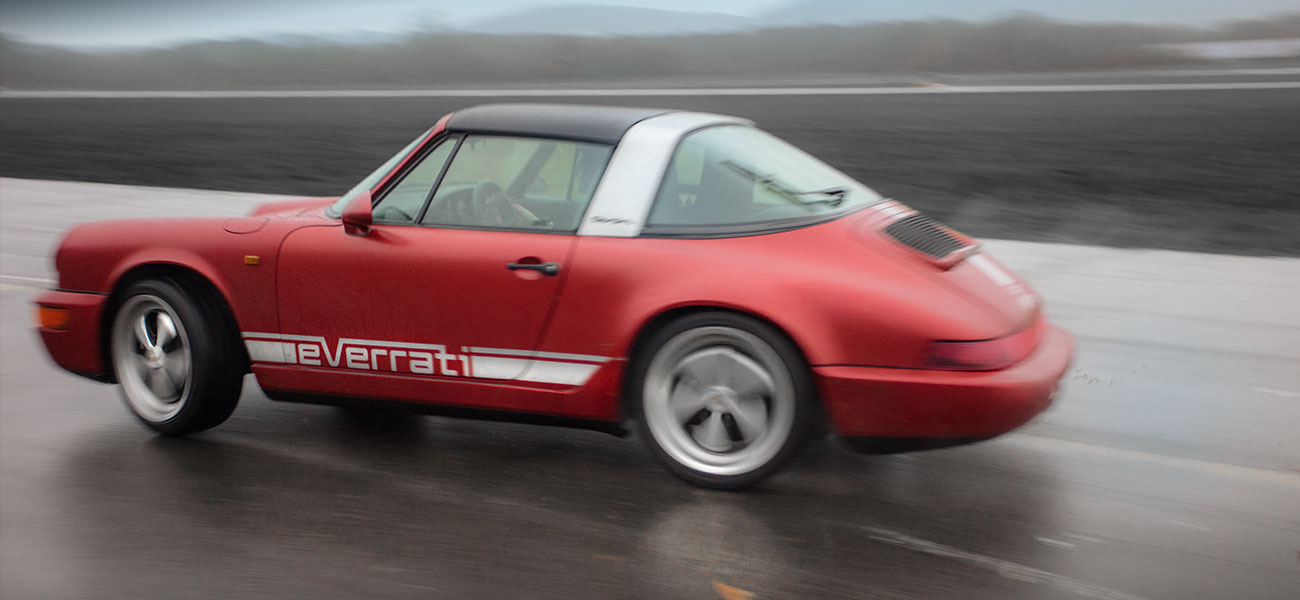 Electric Porsche 911 Targa Everrati