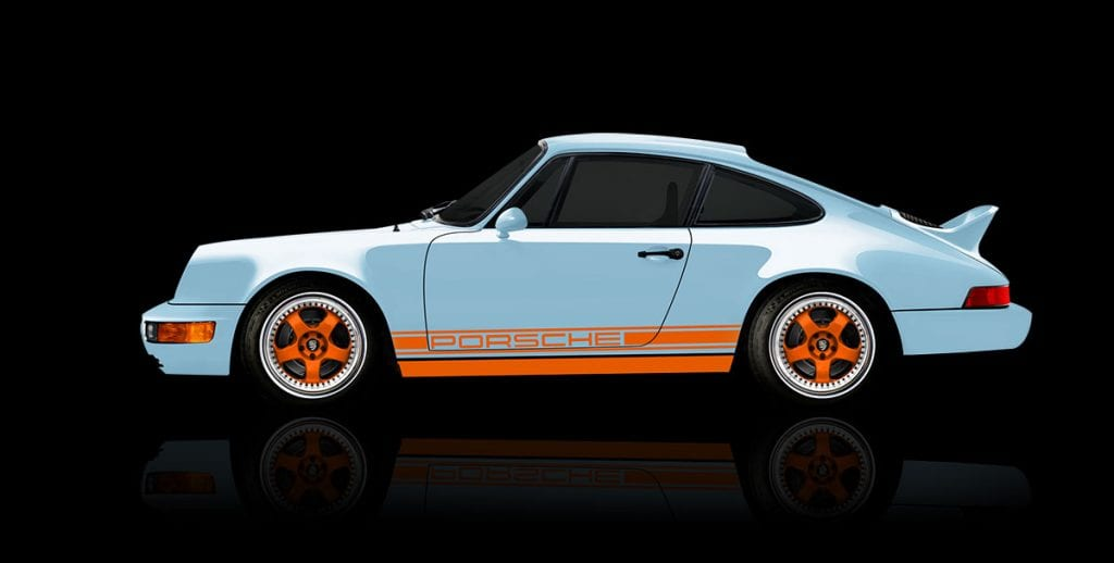 Gulf Signature Edition Porsche