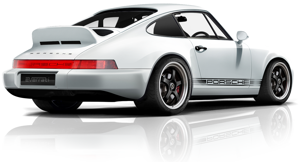 Electric Porsche 964 Coupe