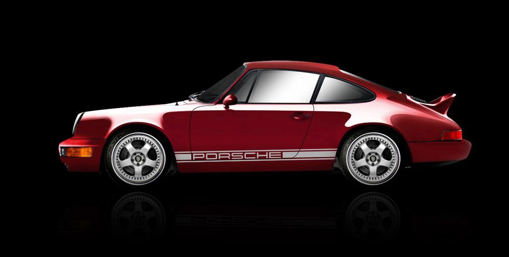 Coupe Porsche Electric