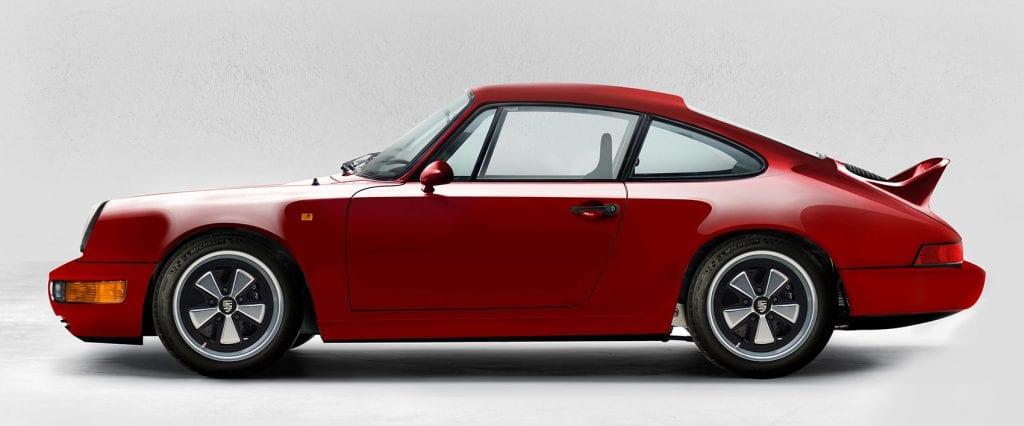 Electric Porsche 911 Pure Coupe