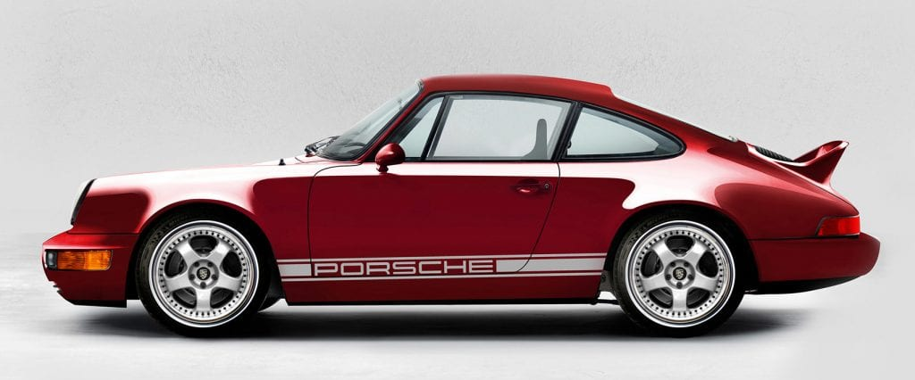Electric Porsche 911 Signature Coupe